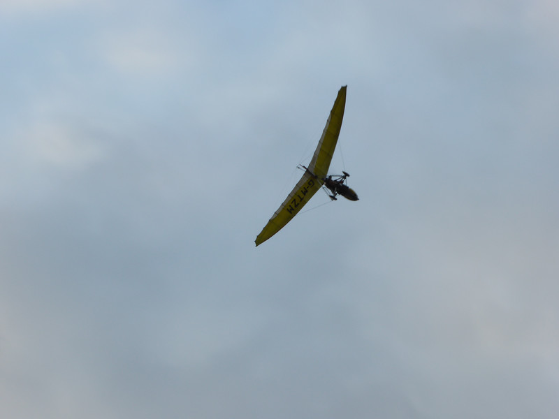 Buzzed by a Microlight