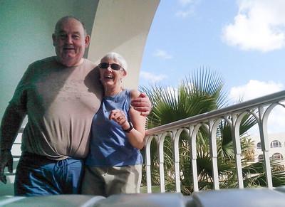 Taking Selfies on the Balcony