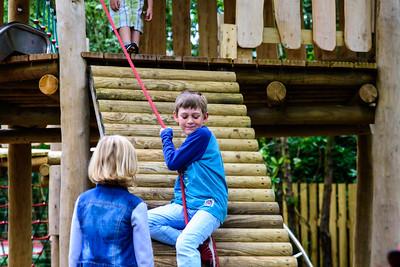 benjamin in the Play Park