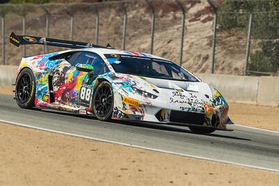 US RaceTronics Lamborghini Huracan entering T6