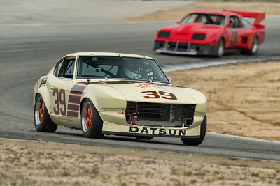 Datsun 240Z powers out of Turn 5