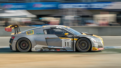 Belgian Audi Club WRT R8 LMS at speed
