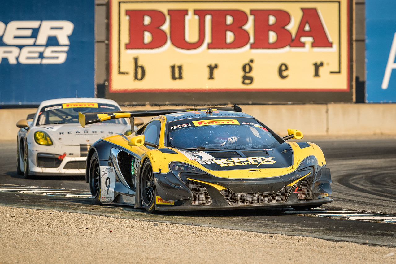 McLaren 650S of K-Pax Racing heading out of Turn 11