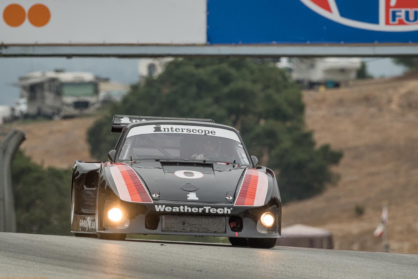 Cooper McNeil driving the 1980 Porsche 935