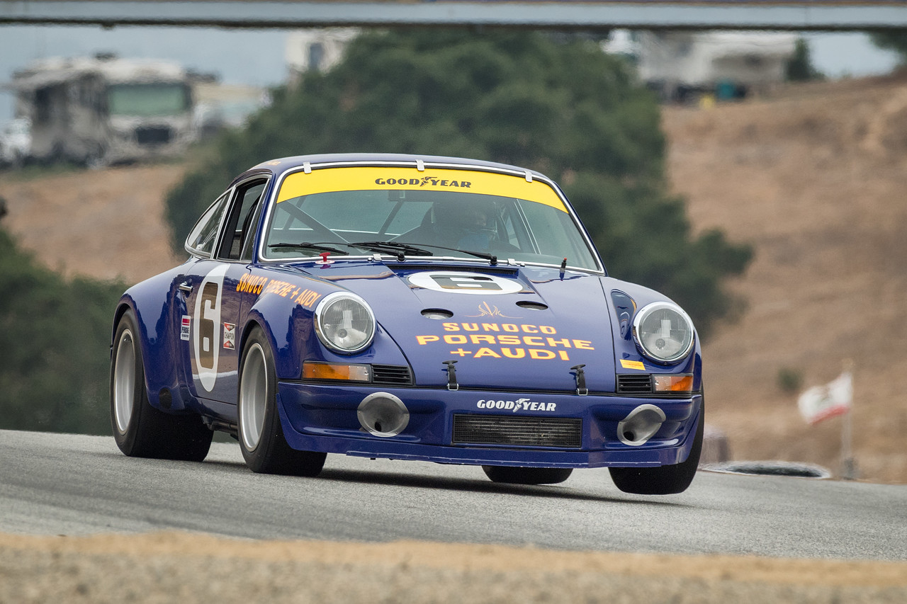 Al Arciero driving the 1973 Porsche 911 RSR