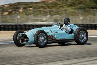 Denis Bigioni driving the 1948 Talbot -Lago T26C