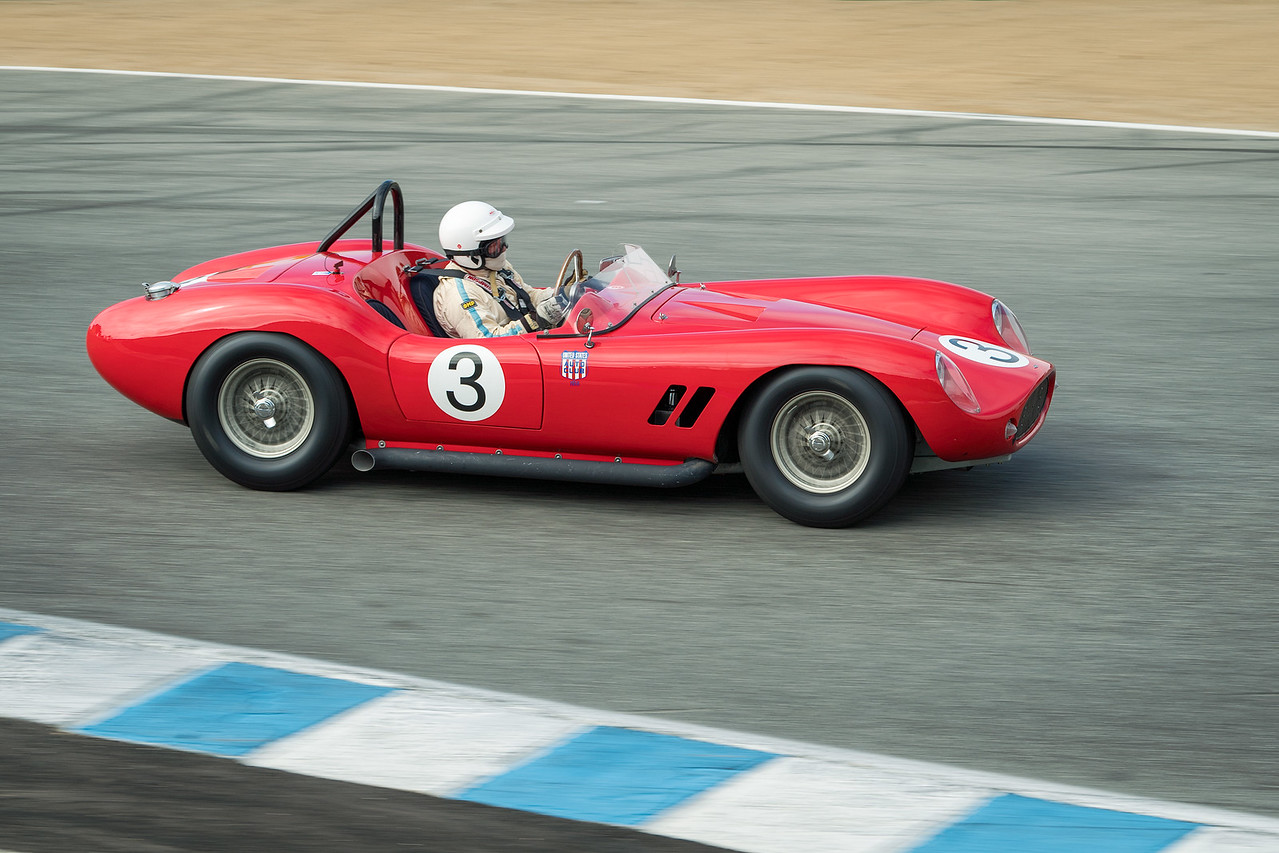 Nick Colonna driving the 1958 Devin ss
