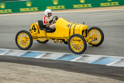 Ed Archer driving the 1915 Ford Roadster