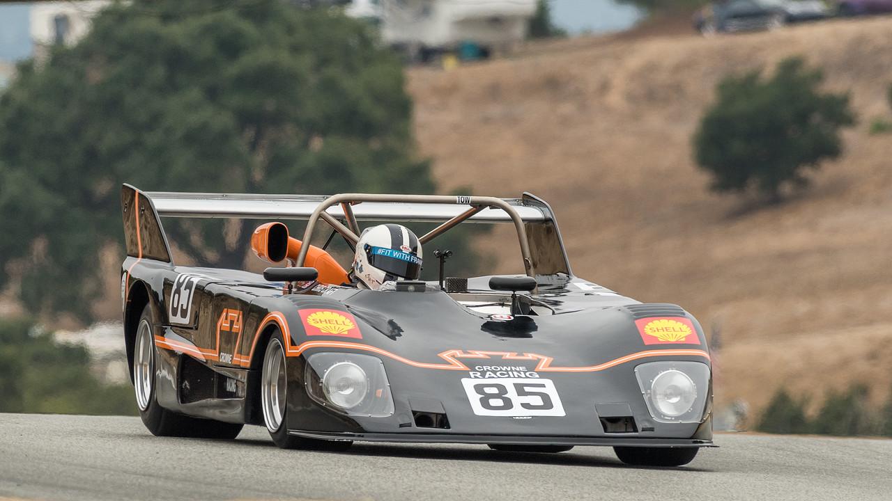 Tony Sinclair driving the 1973 Lola T292