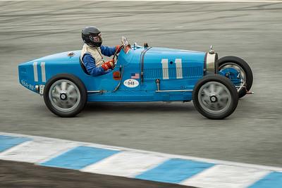 Rick Rawlins driving the 1926 Bugatti 37A