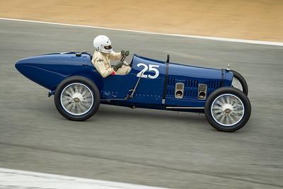 George Wingard driving the 1920 Ballot
