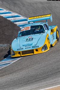 Zak Brown driving the 1981 Porsche 935