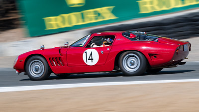 Chip Fudge driving the 1968 Bizzarrini Strada GT