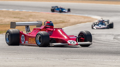 Bud Moeller drives 1979 Ensign MN179 into Turn 11