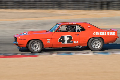 Jim Reed's 1969 Camaro Z28 exiting Turn 5
