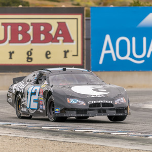Tom Cantrell powers the 2005 Dodge Charger out of turn 11