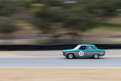 Mike Chandler's 1968 Datsun 510 heading towards Turn 6