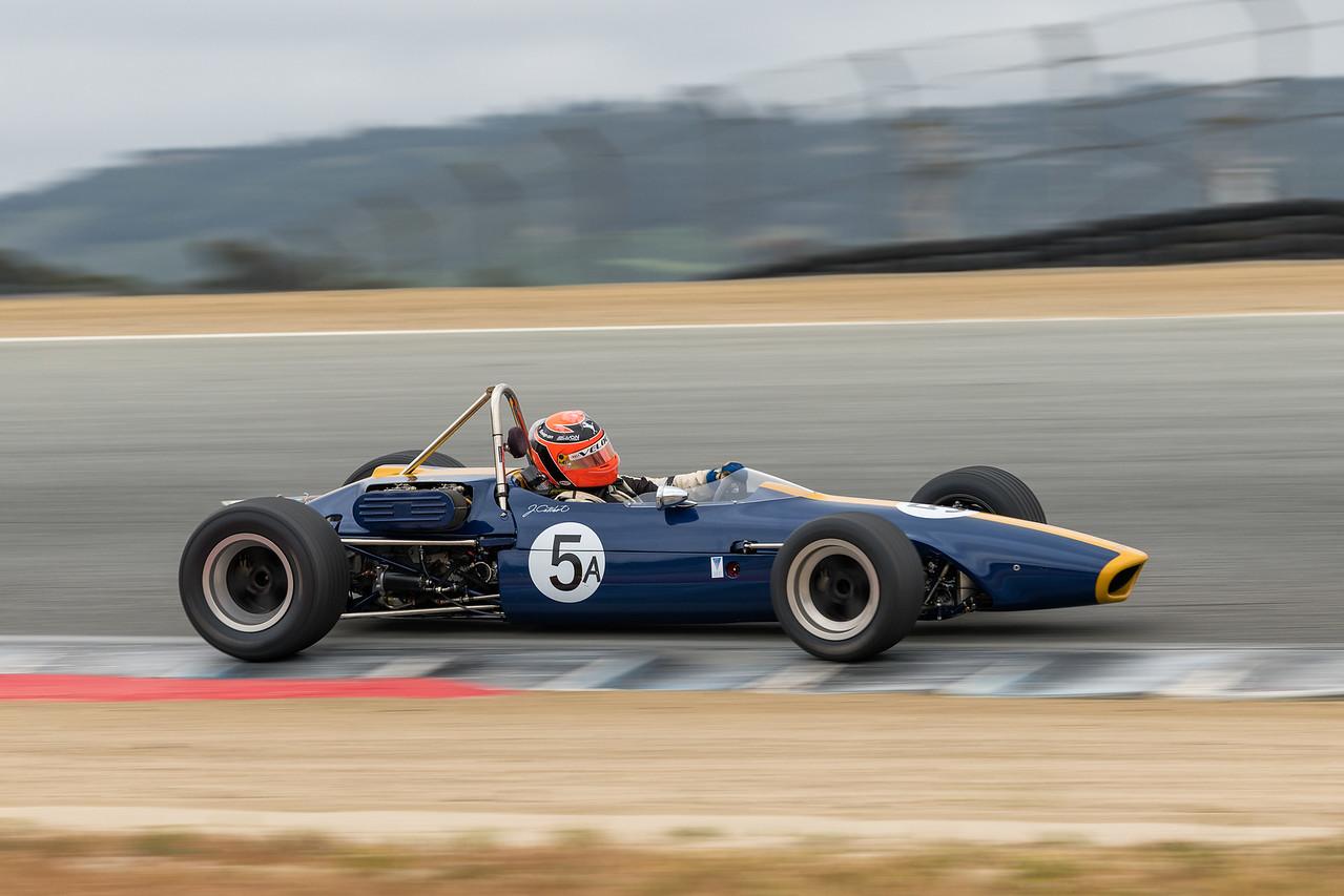 Formula B's very fast #5A Jim Catchot's 1968 Chevron B10 A