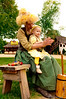 """Motion - """"The Little Butter Churner"""" - Amber applauding her niece Zoe after she had churned her first butter."""