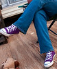 "Portraits - ""Kicks"" - These were entirely too . . . purple . . . to pass up."