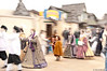 """Motion - """"Le Petit Dauphin"""" - Little Prince Thomas walking all separate from the rest of the Royal Court."""