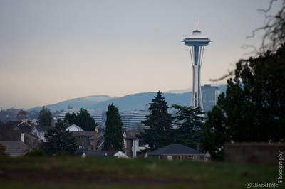Space Needle from Magnolia Bluff