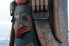 Totem pole, detail, Pike Place Market