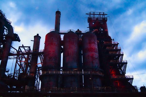 Steels stacks
