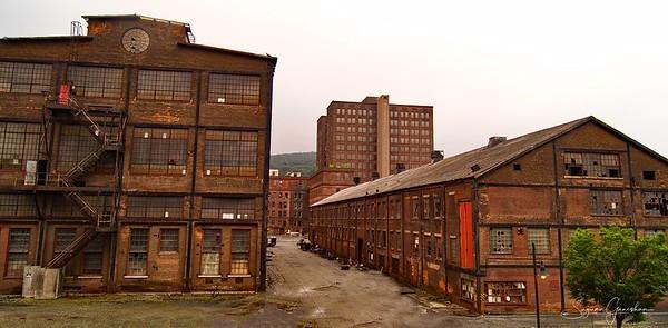 Old Industrial Building in Bethlehem, pa
