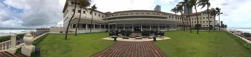 Galle Face Hotel in Sri Lanka