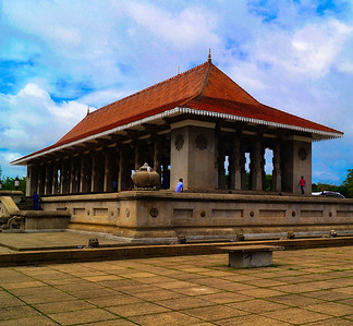Independence hall in Sri Lanka