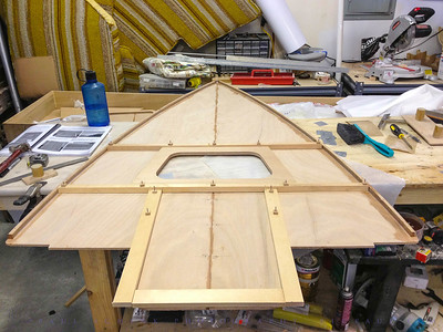 Deck Framing and Hatch cutout