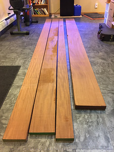 Sapele Delivery Day