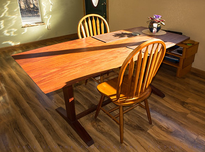 Sapele Dining Table