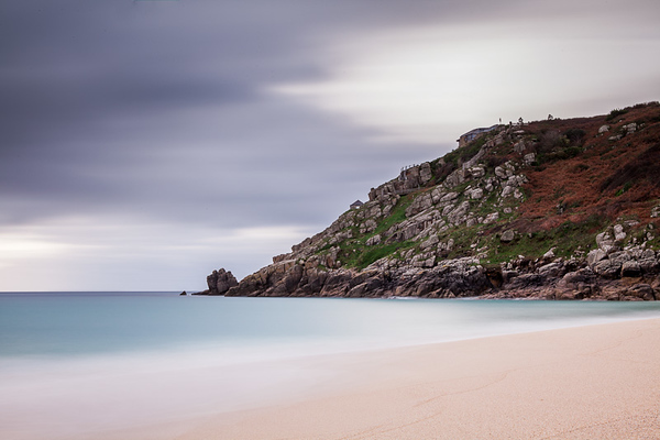 Porthcurno looking towards Minack
