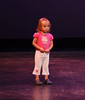 After the recital, Vanessa wanted to do ballet on the stage.