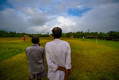 Village soccer field