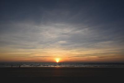 Goa's many sunset skies