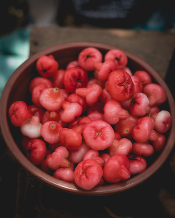 Water rose apple, or Zaam in Goa, Jambu in Indonesia