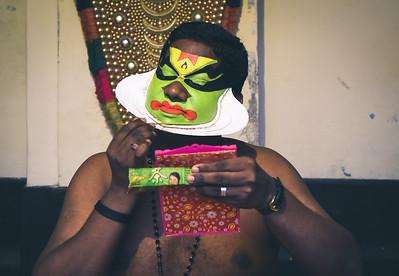 Backstage Kathakali 7/14