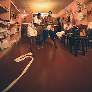 Backstage Kathakali 13/14