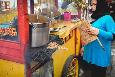 The making of Sate Padang