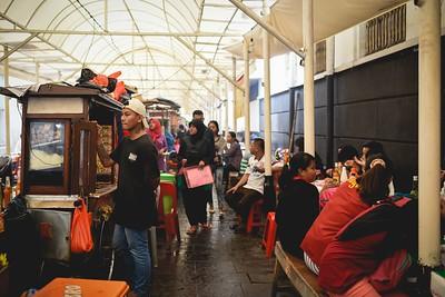 Street food court