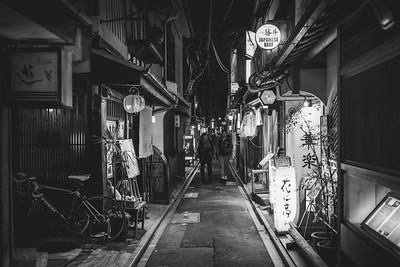 Winter night Kyoto
