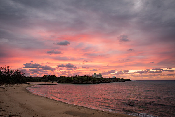 Okinawa sky and water