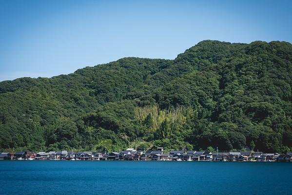 Ine Fishing village, 伊根の舟屋, Kyoto