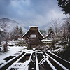 Shirakawa (白川村) snow, houses and dreamy nature