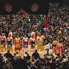 Grand Sumo tournament Osaka 2017