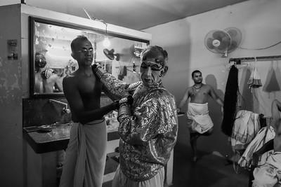 Backstage Kathakali 10/14