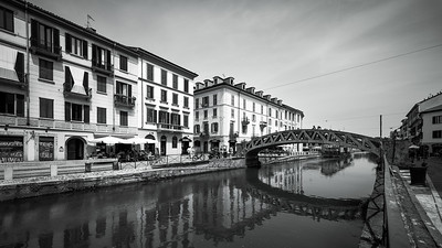 The Naviglio Grande, Milan